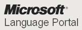 Microsoft language